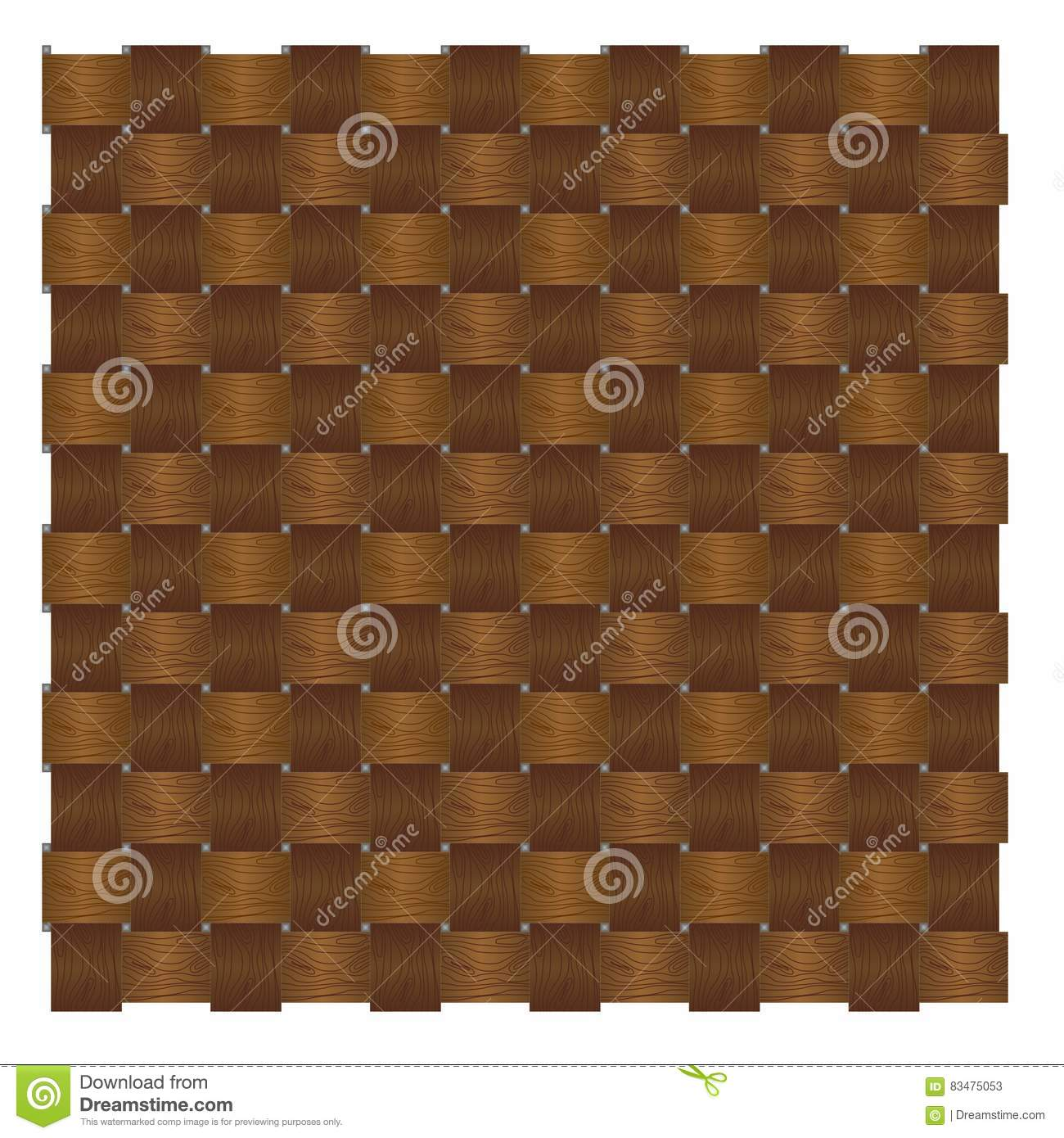 Wood pattern knitting stock vector. Illustration of cicle - 83475053