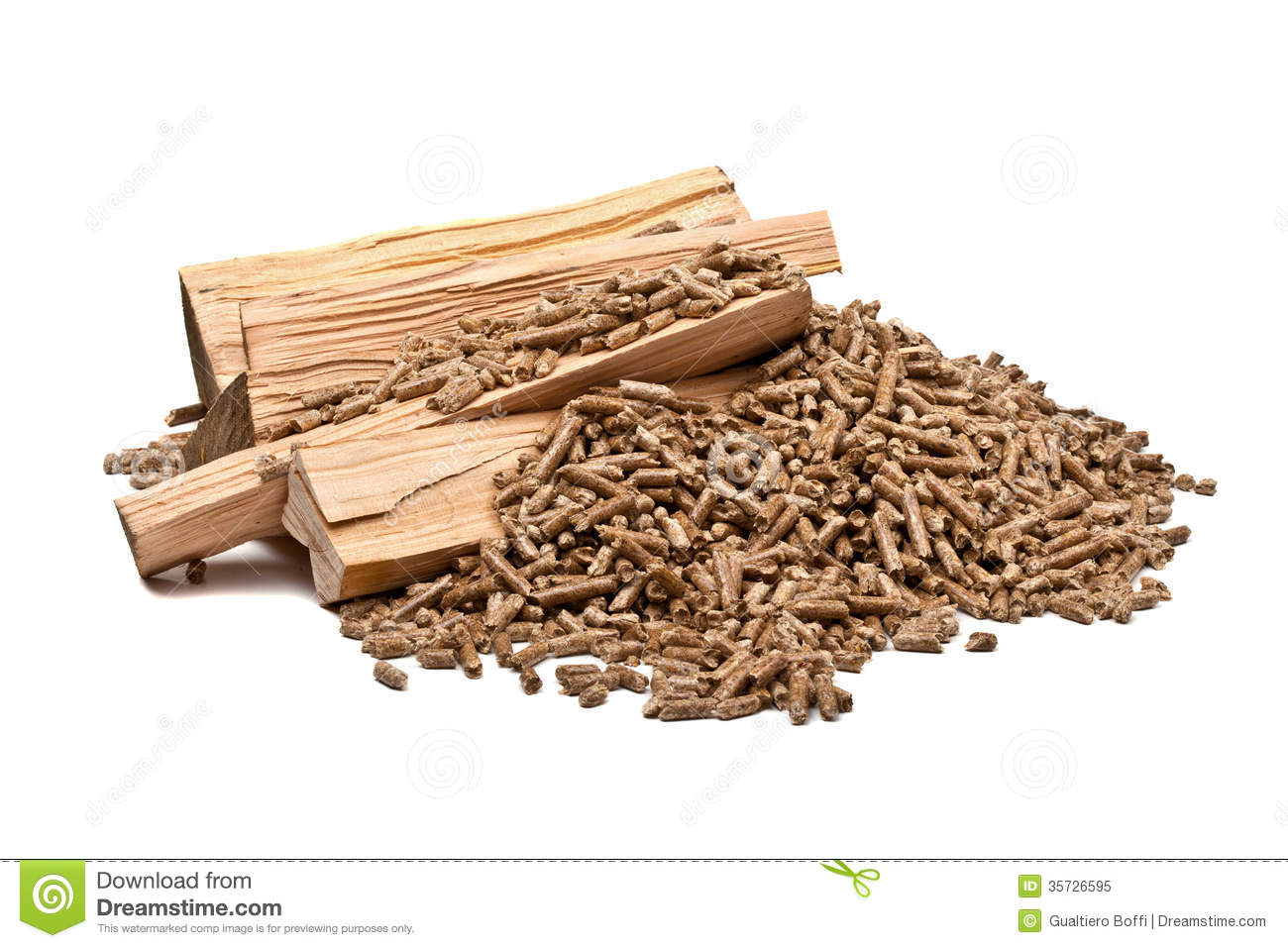 What Are Wood Pellets ~ Wood pellet royalty free stock photo image