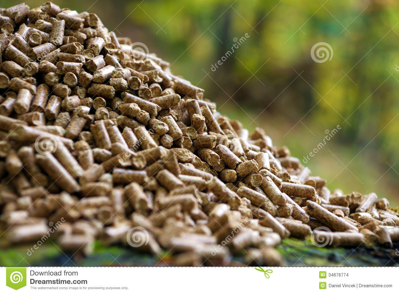 Wood Pellets Stock Images - Image: 34676774