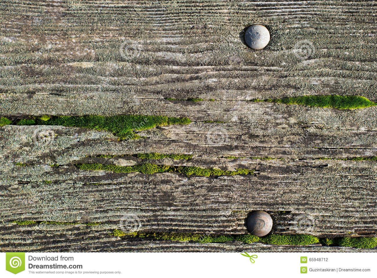 Picnic Table Background wood picnic table background with green moss on it stock photo