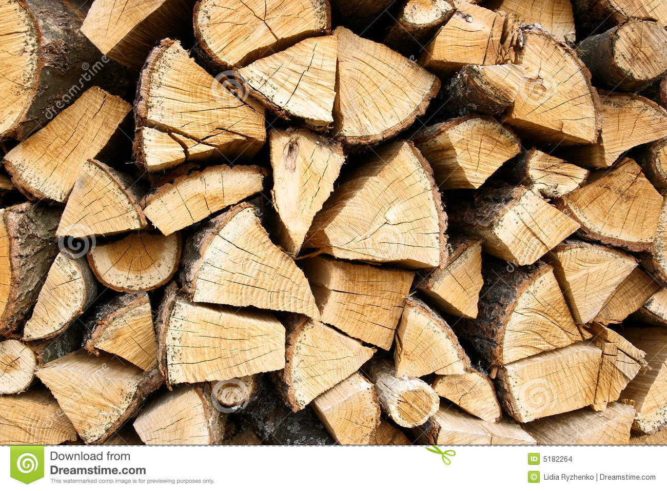 Wood Pile Stock Images Image 5182264
