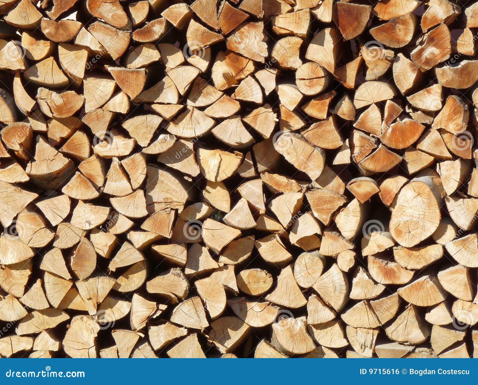 Wood Pile Royalty Free Stock Image Image 9715616