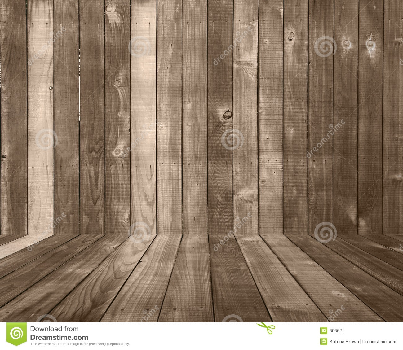 Wood Plank Background Backdrop With Floor