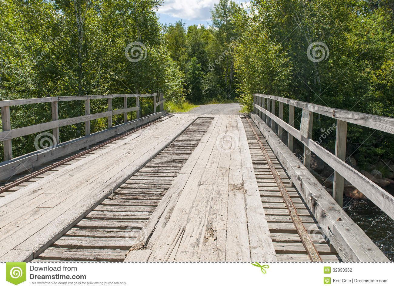 Wood plank bridge stock photo image of planking logging