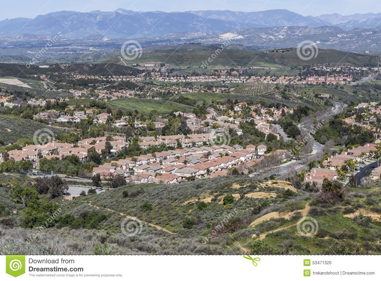 Wood Ranch Simi Valley California - Wood Ranch Simi Valley California Stock Photo - Image: 53471320