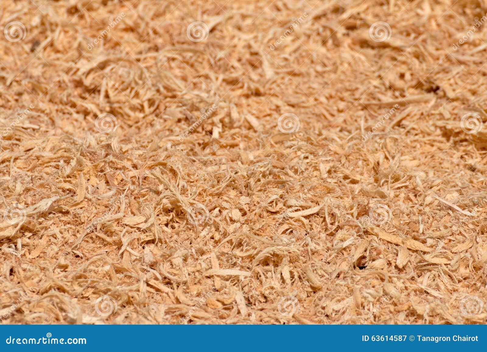 Wood Sawdust Texture Stock Photo - Image: 63614587