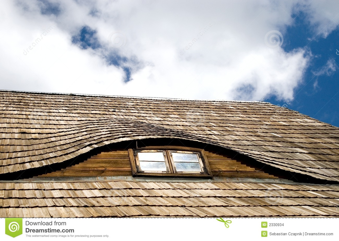 Wood Shake Roof Stock Photo Image Of Building Wooden