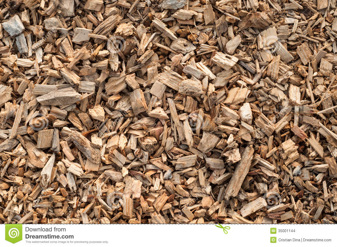 Wood shavings texture stock photo image of chip sawdust