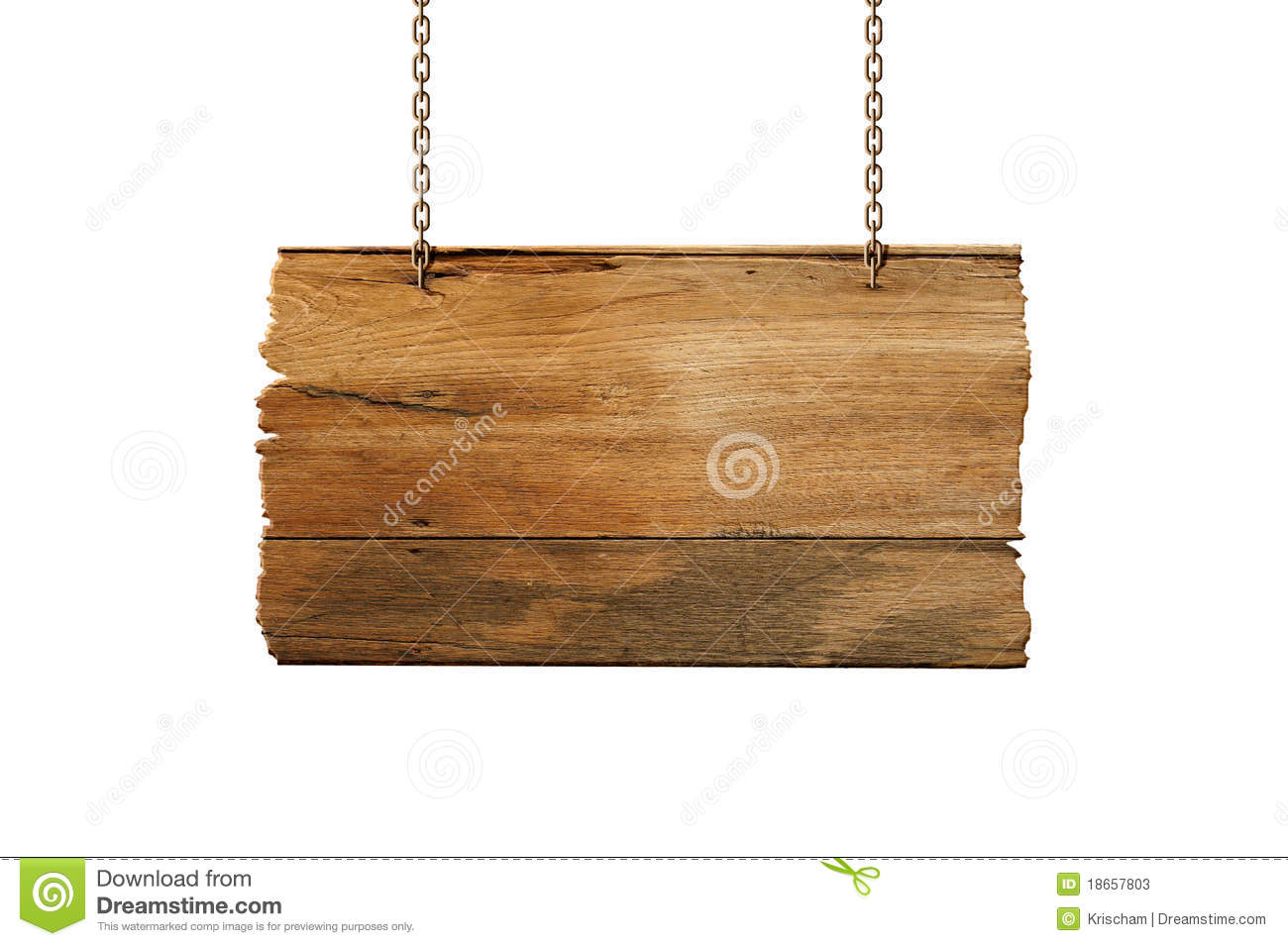 wood sign hang stock image image of element isolated. Black Bedroom Furniture Sets. Home Design Ideas