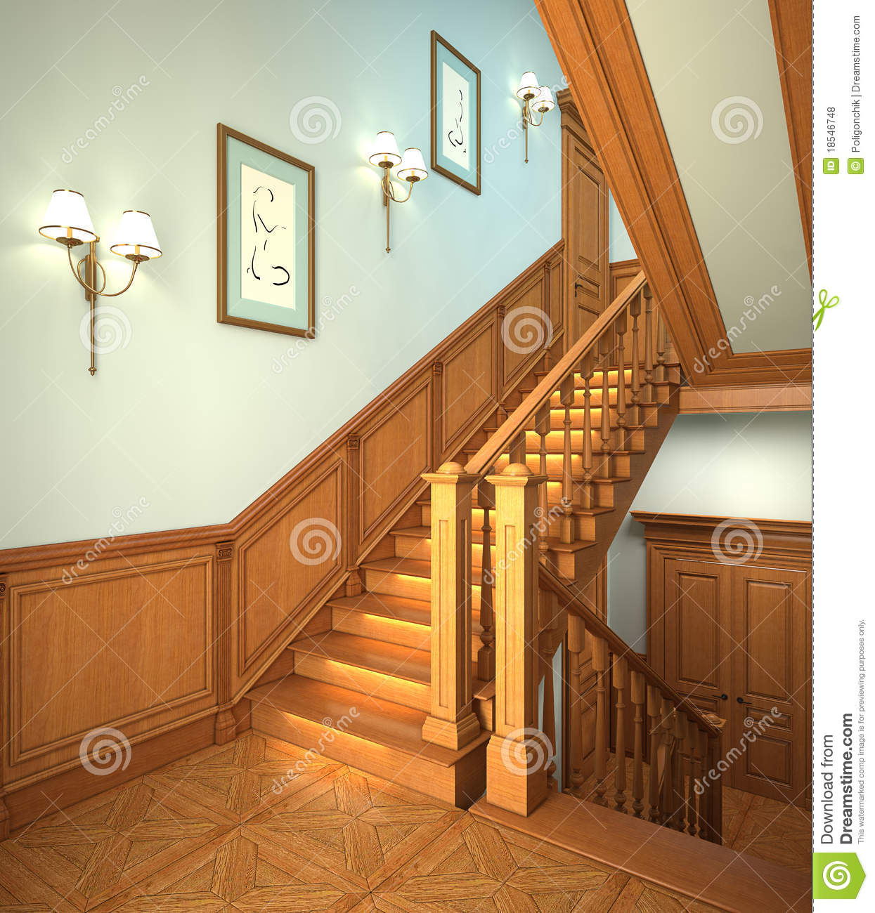 House Interior Modern Stairs