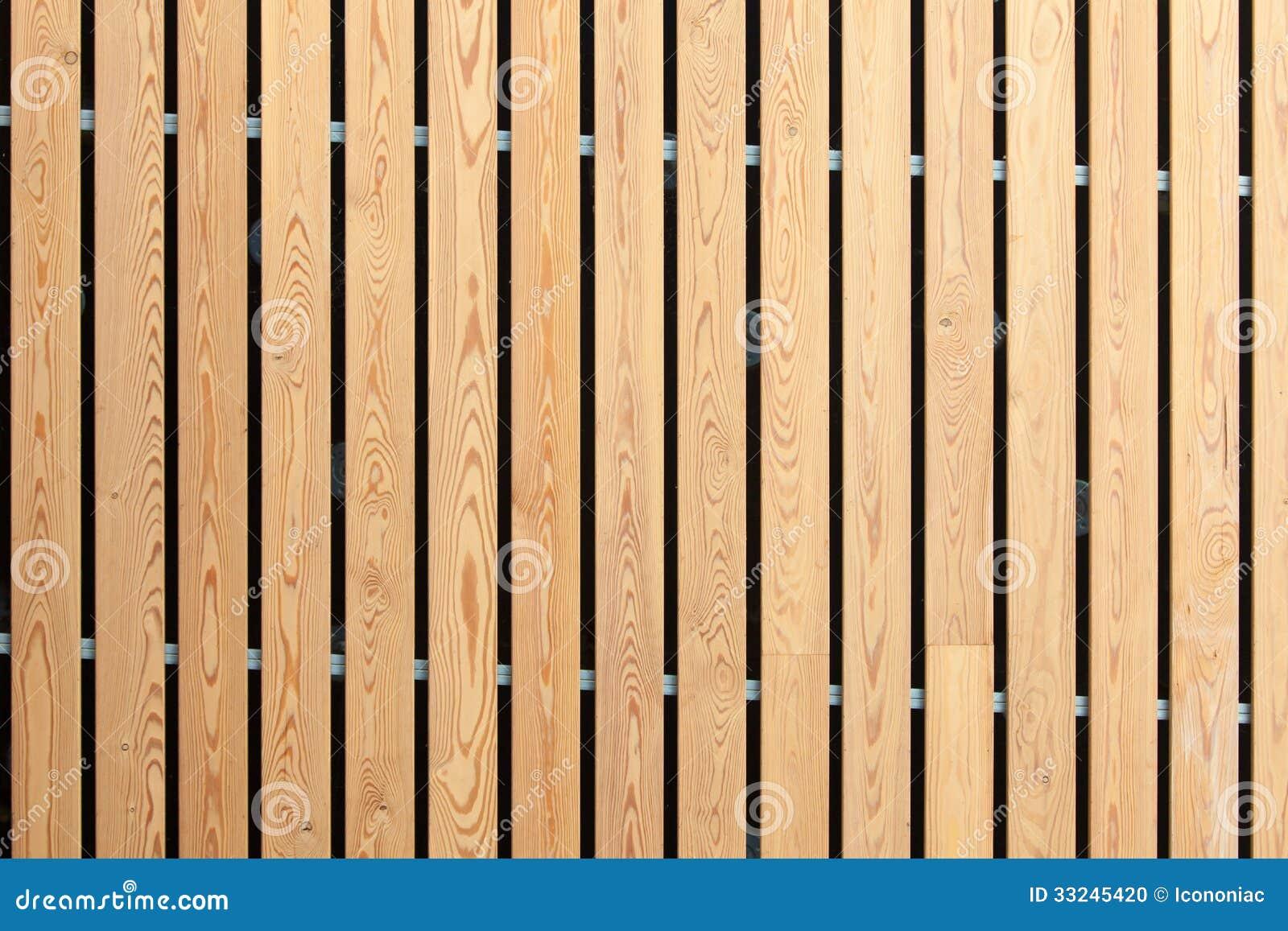 Wood Stripes Facade Building Decor Stock Photo Image