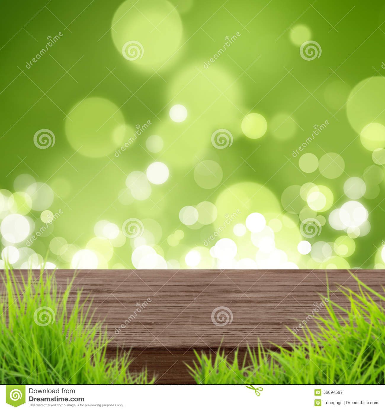 Wood table background hd - Wood Table Natural Green Background Stock Photo
