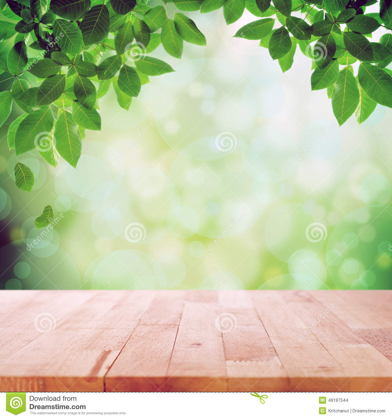 Wood table background hd - Abstract Background Bokeh Green Leaves Nature Table Top Wood