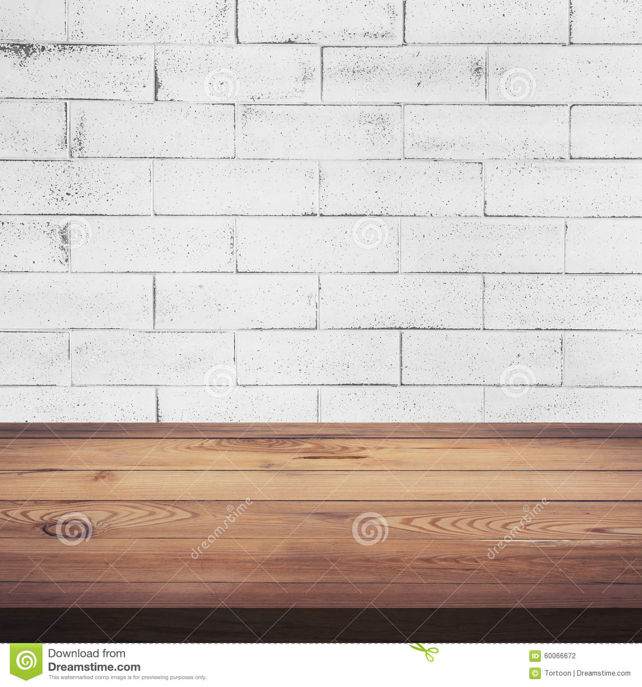 White wood table texture - Royalty Free Stock Photo Download Wood Table And White Brick Wall Background Texture