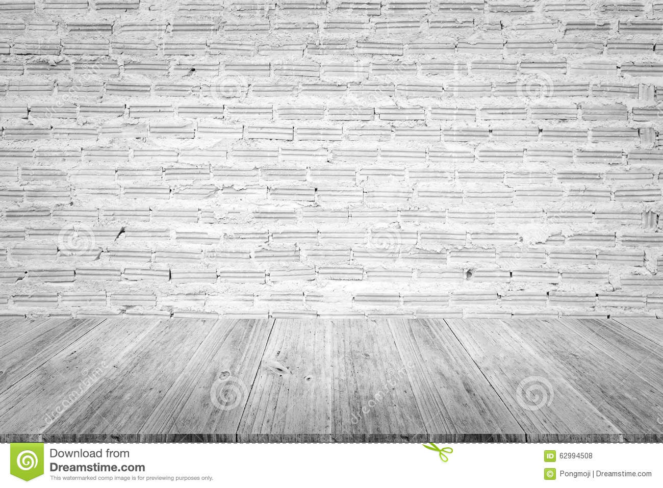 Wood terrace and red brick wall texture stock illustration for Terrace texture
