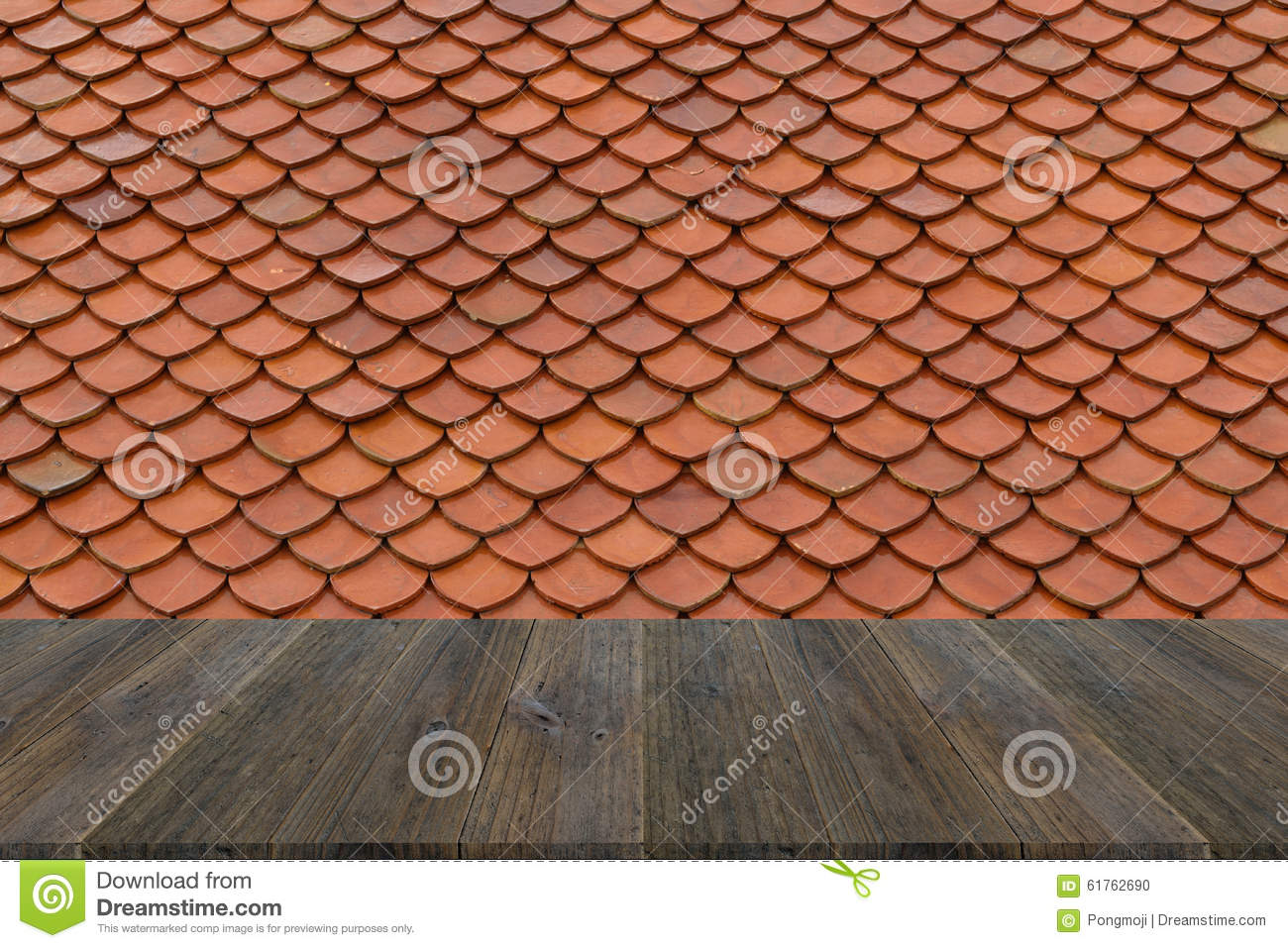 Wood terrace and tile roof texture stock photo image for Terrace texture