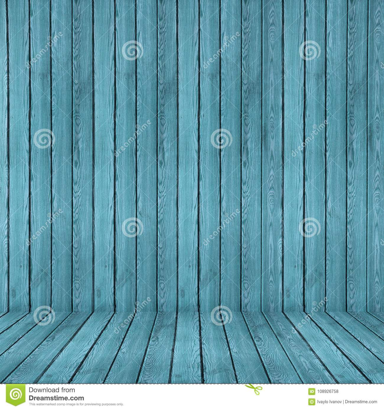 Wood Texture Background. Blue Wood Wall And Floor Stock Photo ...