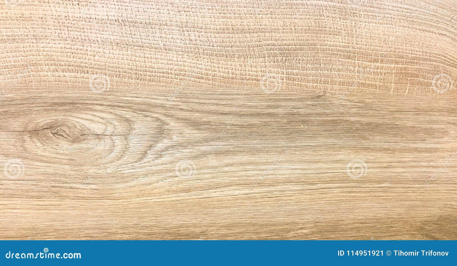 Wood Texture Background Light Oak Wooden Planks Pattern Table Top