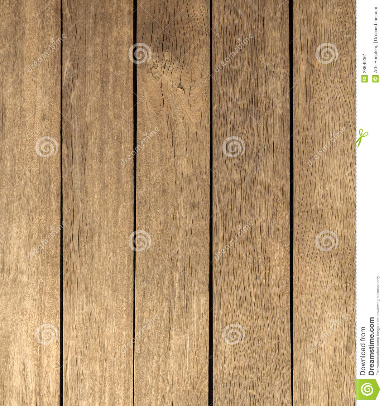Wood Texture Background In Vertical Pattern, Natural Color