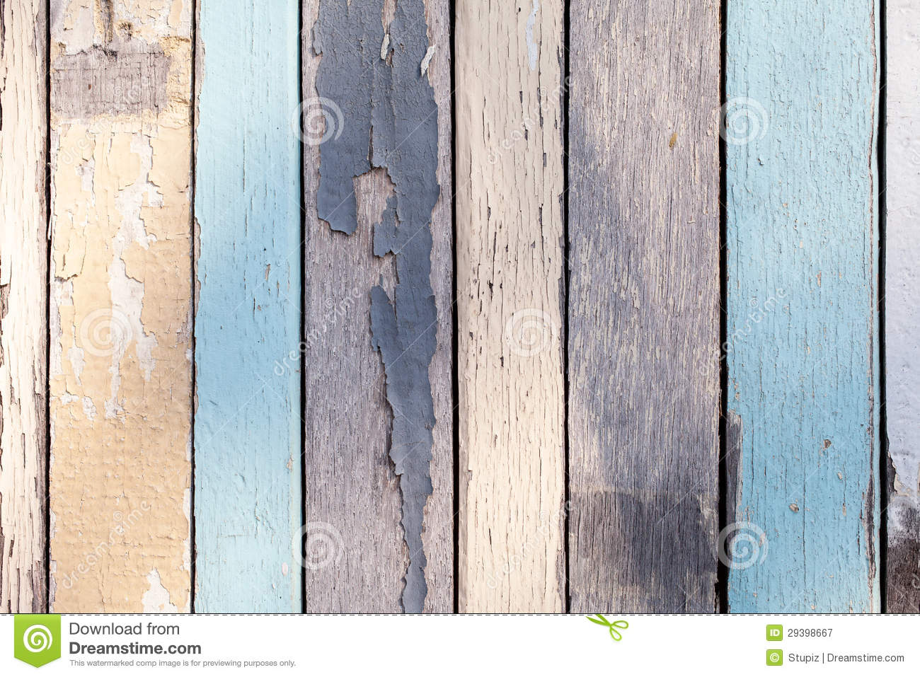 Wood Texture With Cracked Pastel Color Royalty Free Stock