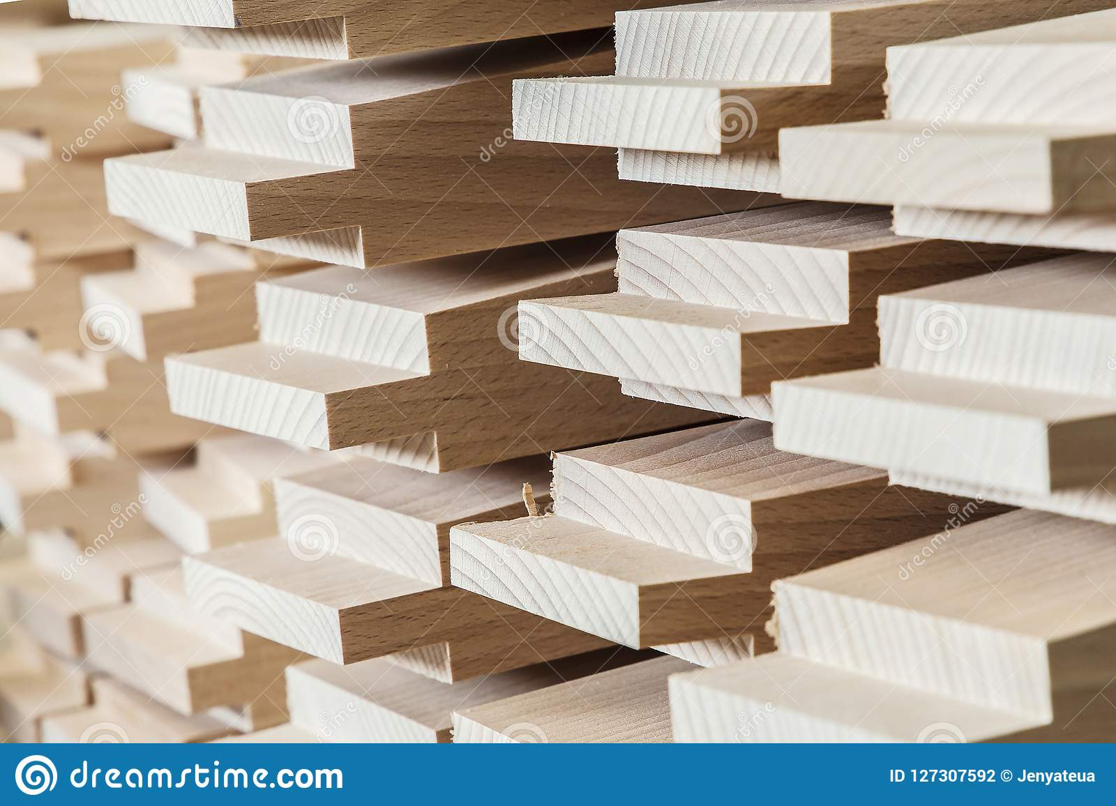 Produce industry wooden products and wood materials