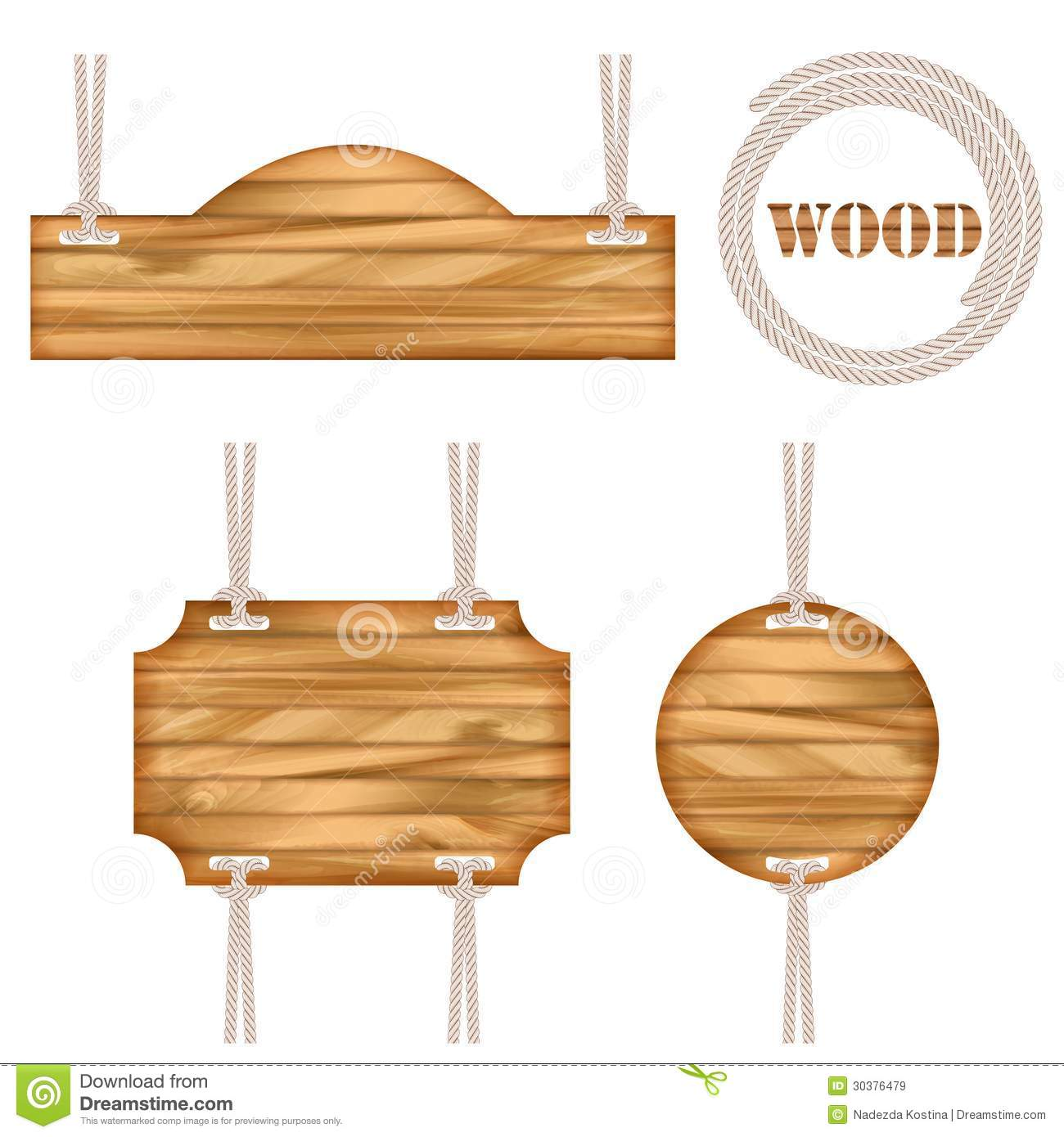 Wood vector frame rope design royalty free stock images for Rope designs and more