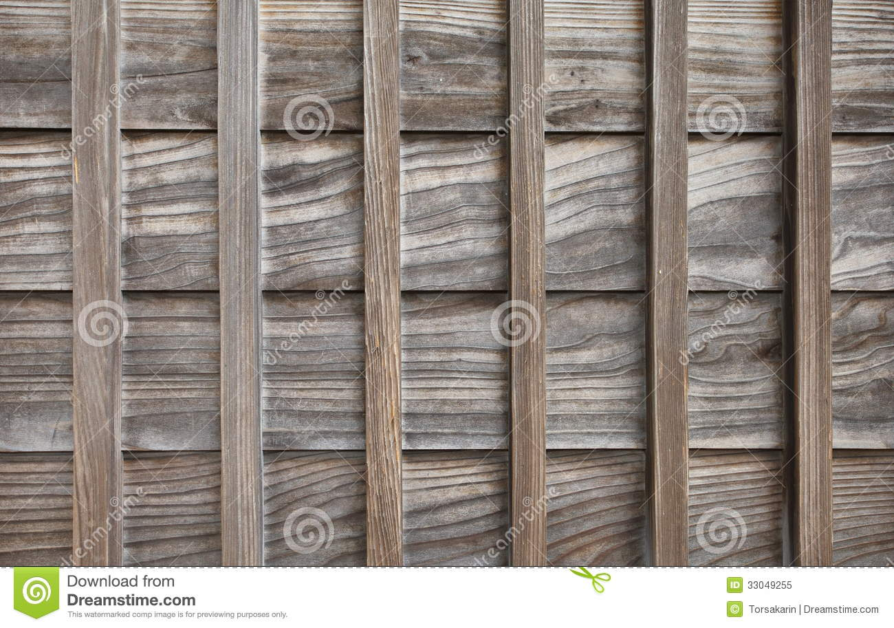 Wood Wall Of Traditional Japanese House Royalty Free Stock