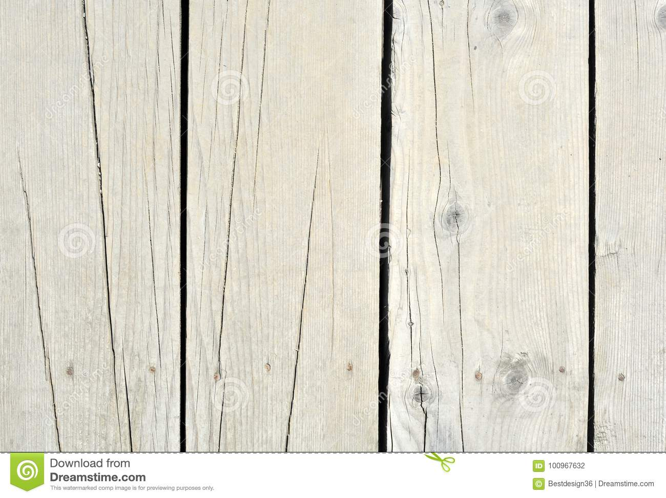 Wood Or Wooden Vintage Plank Floor Or Wall Surface Stock Photo