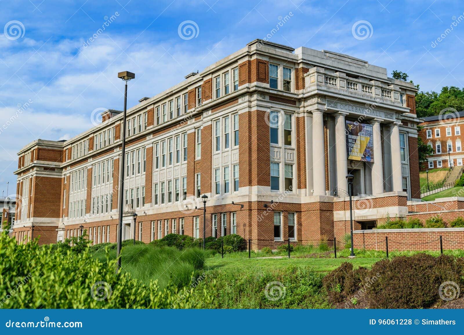 Woodburn Hall chez Virginia University occidentale