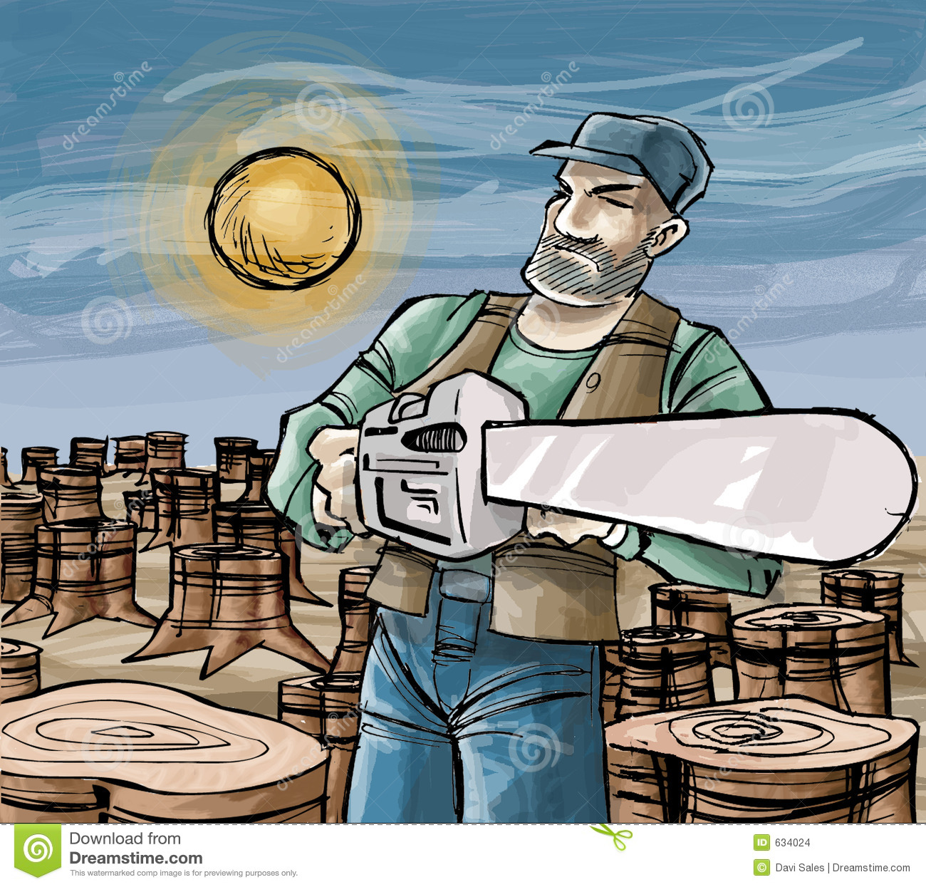 woodcutter cartoons  illustrations  u0026 vector stock images