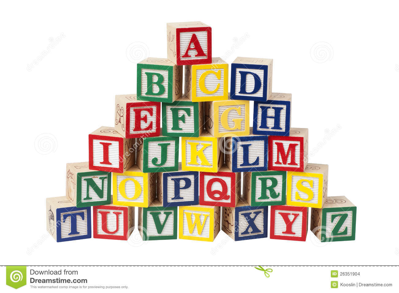 More similar stock images of ` wooden alphabet blocks `