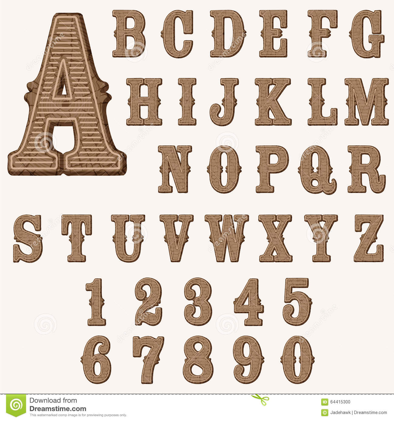 Western Letters And Numbers