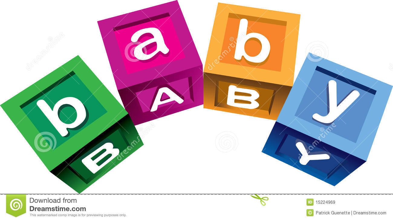 Wooden Baby Blocks Royalty Free Stock Images Image 15224969