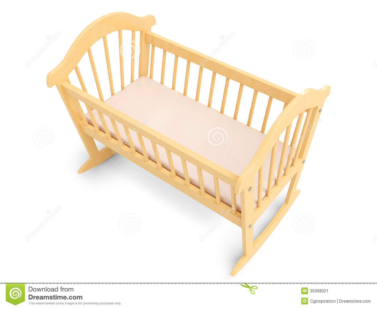 Wooden crib for babies - Wooden Baby Crib