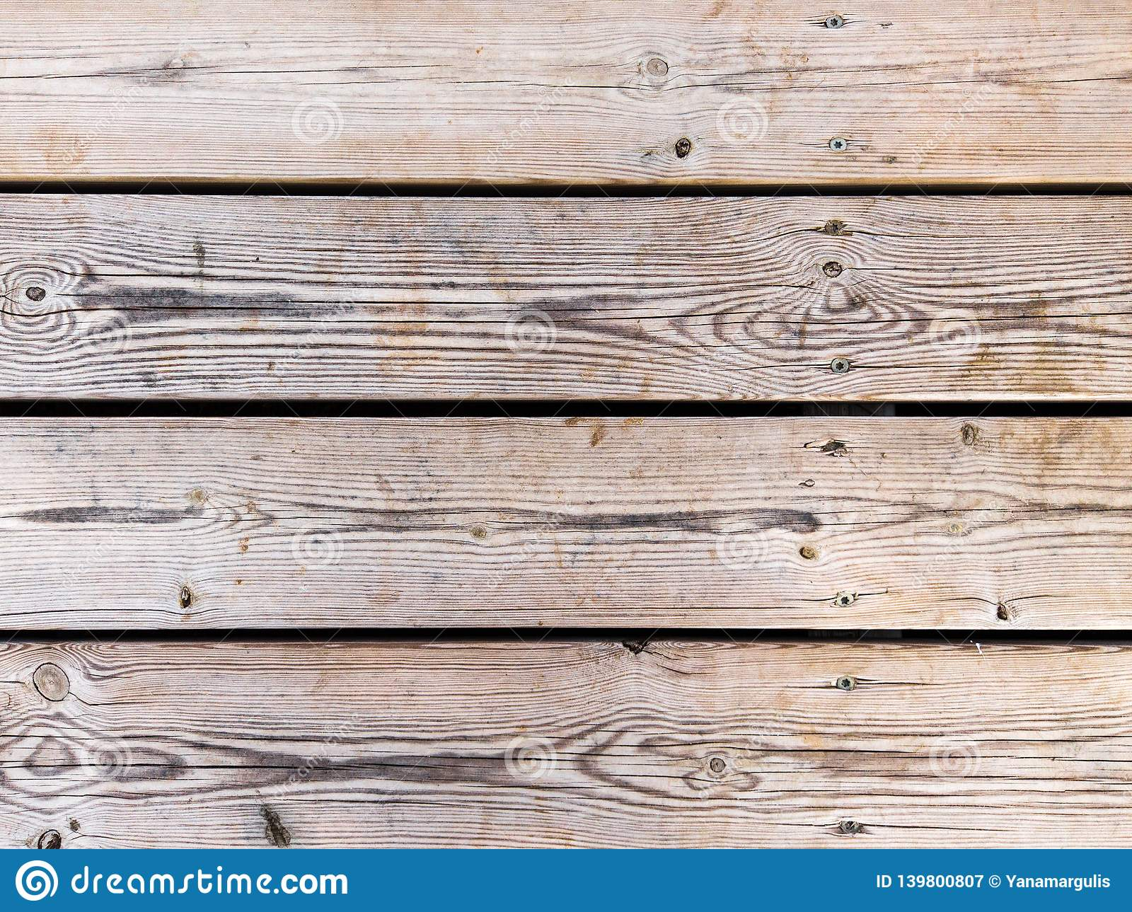 Wooden background from real wooden table