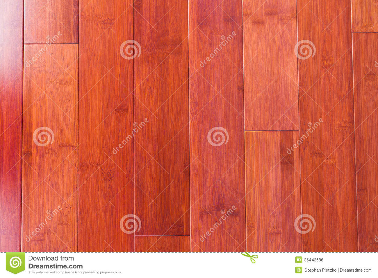 Wooden Bamboo Flooring Grain Texture Background Royalty