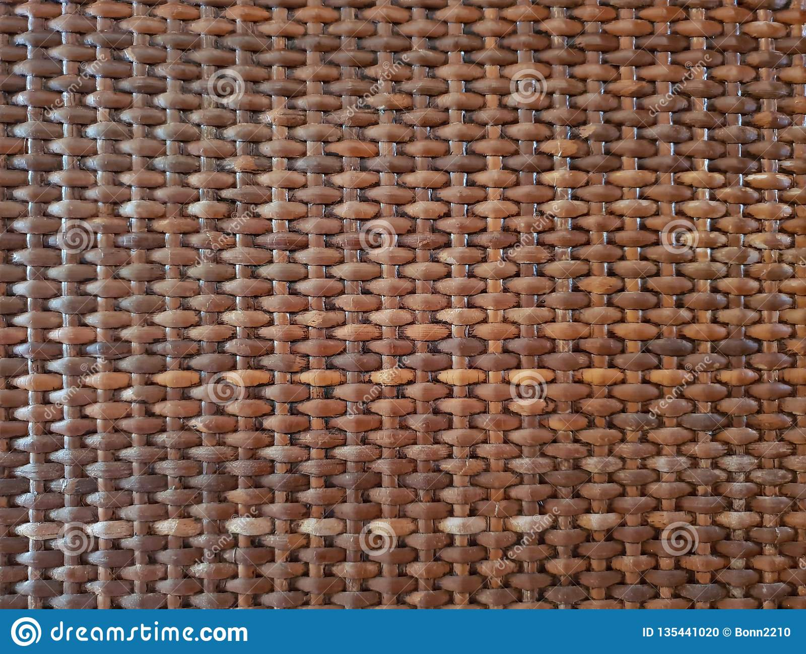 Wooden basket texture background wallpaper