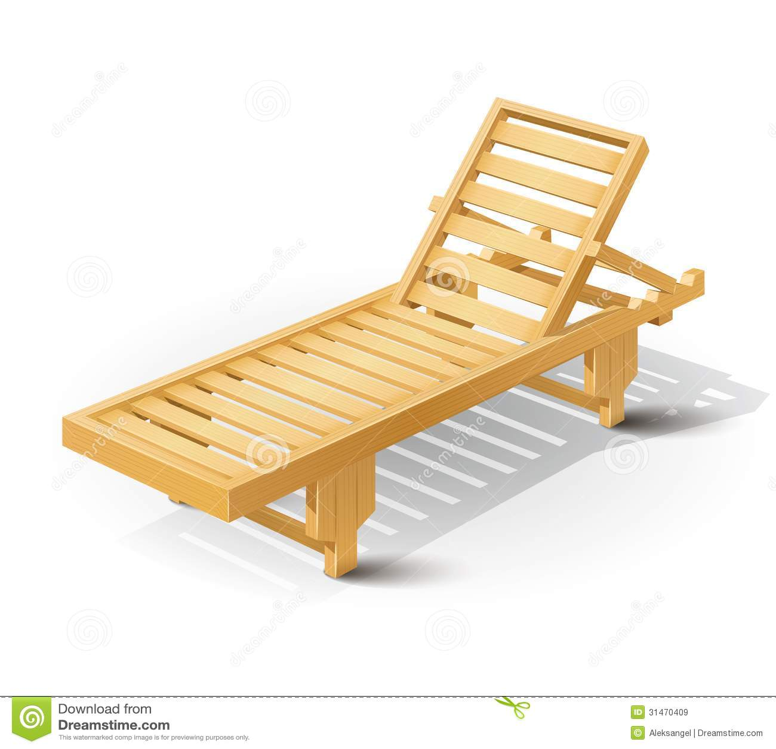 White wooden beach chair - Background Beach Bed Eps10 Illustration Vector White Wooden