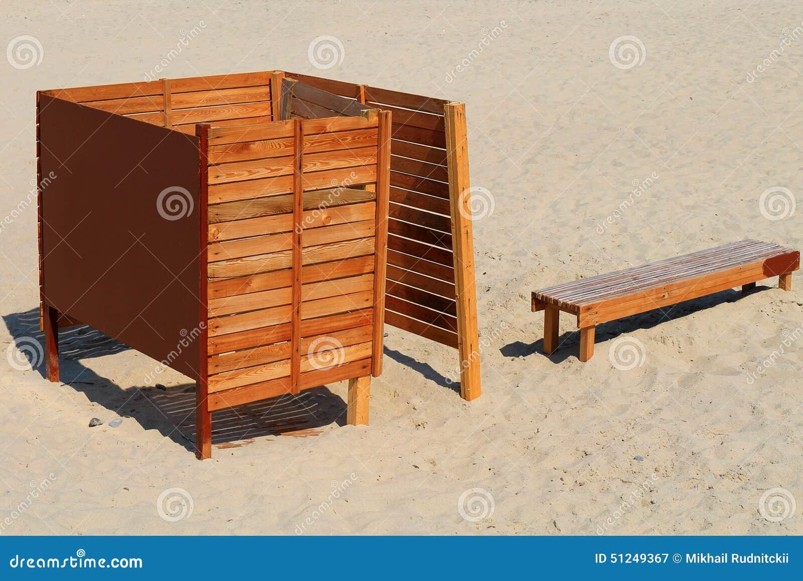 Фото кабинки для пляжа