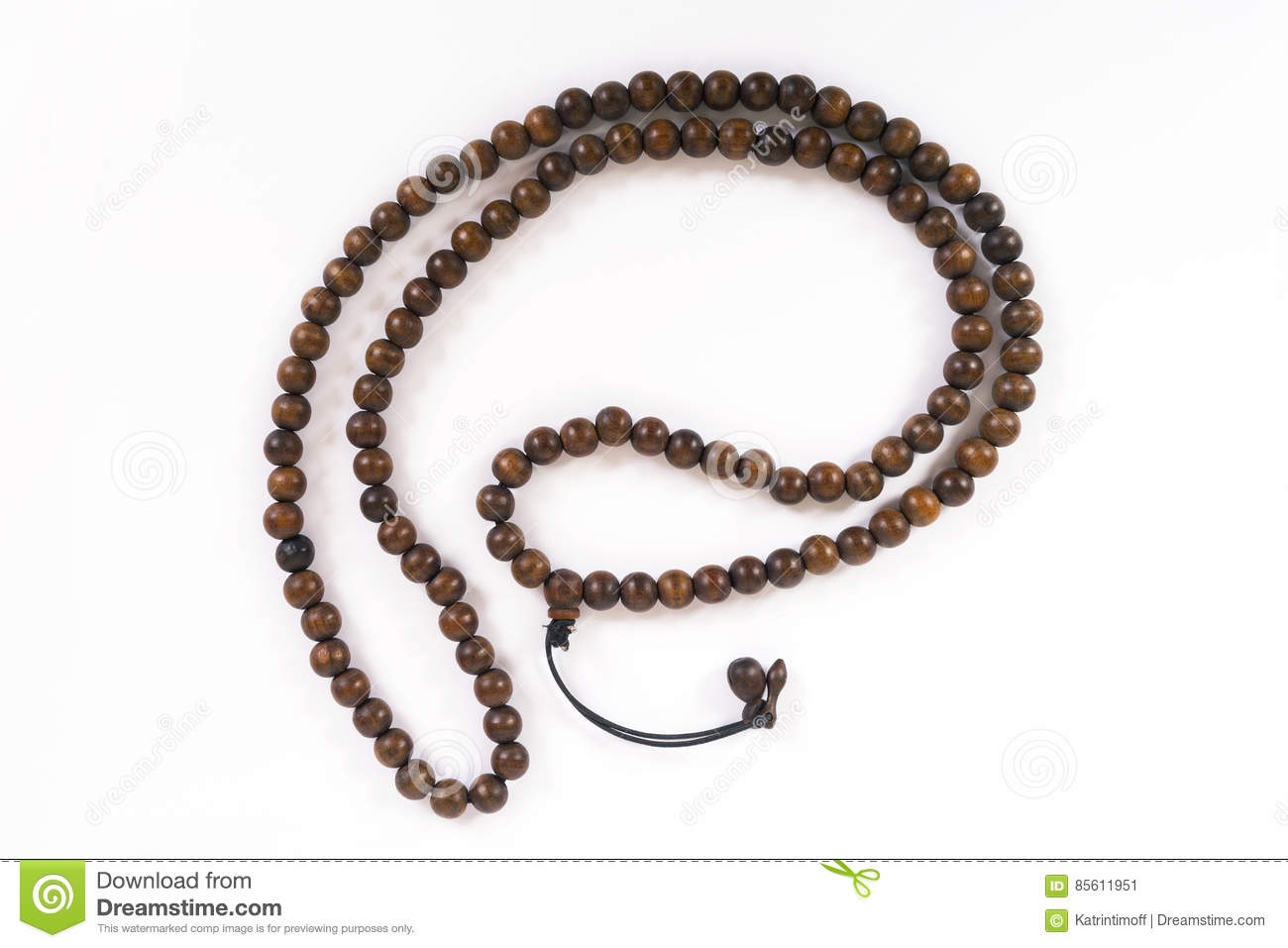 Wooden beads stock image  Image of culture, symbolic - 85611951