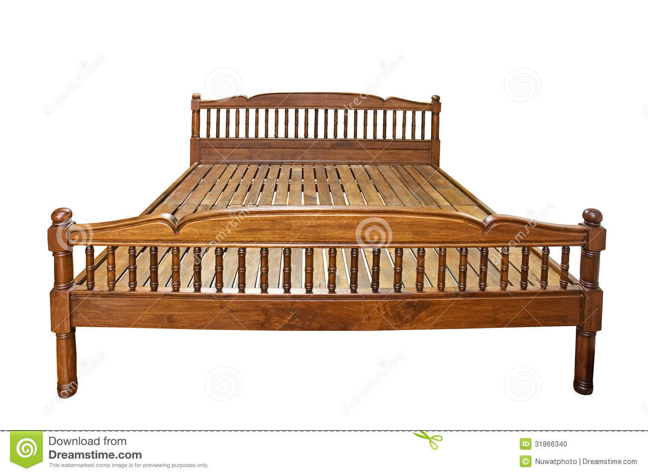 Very Impressive portraiture of Wooden Bed Stock Photo Image: 31866340 with #85A724 color and 1300x954 pixels