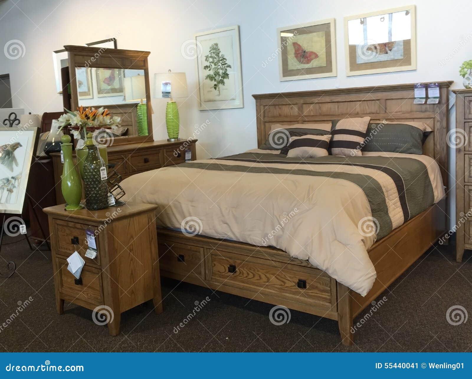 Selling Bedroom Furniture Wooden Bedroom Furniture Selling Editorial Photo Image 55440041