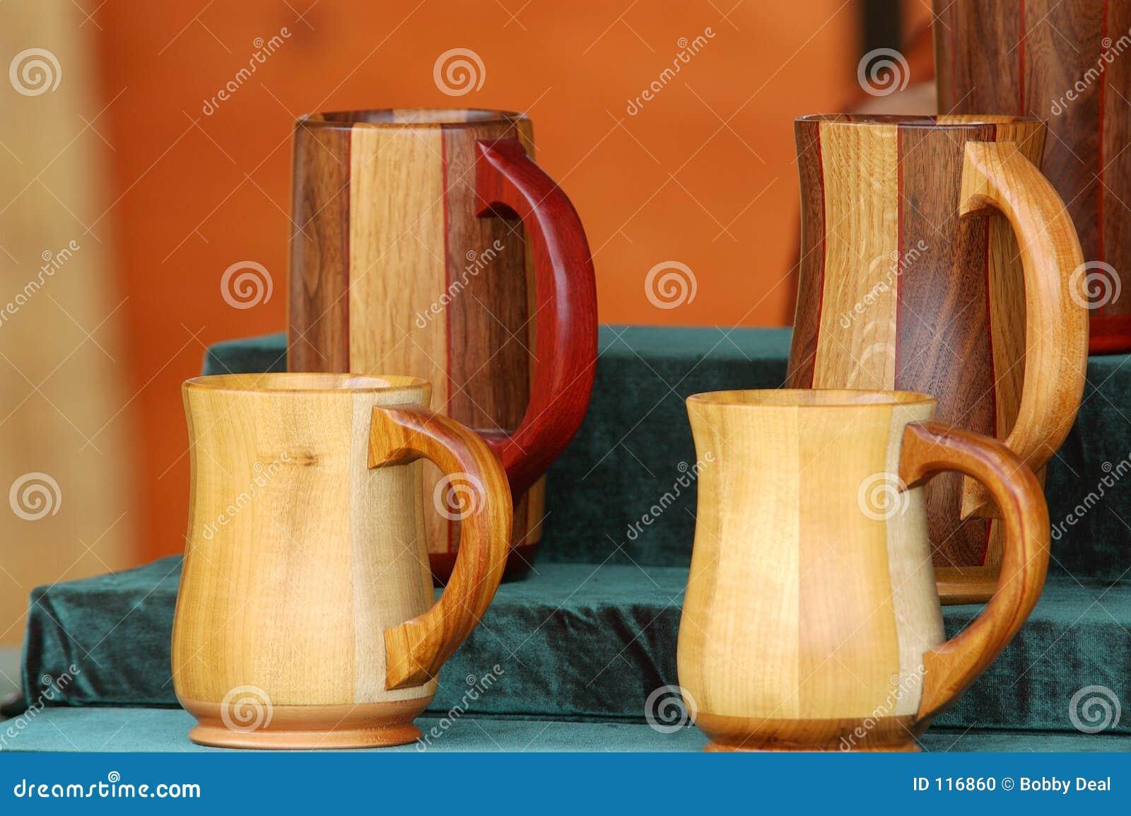Wooden Beer Stiens