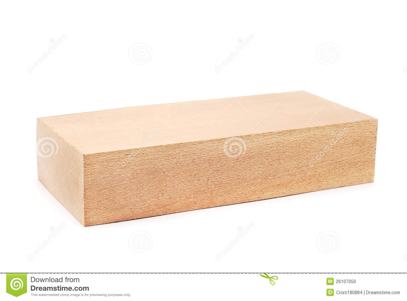 Wooden Block Stock Photo - Image: 26107050