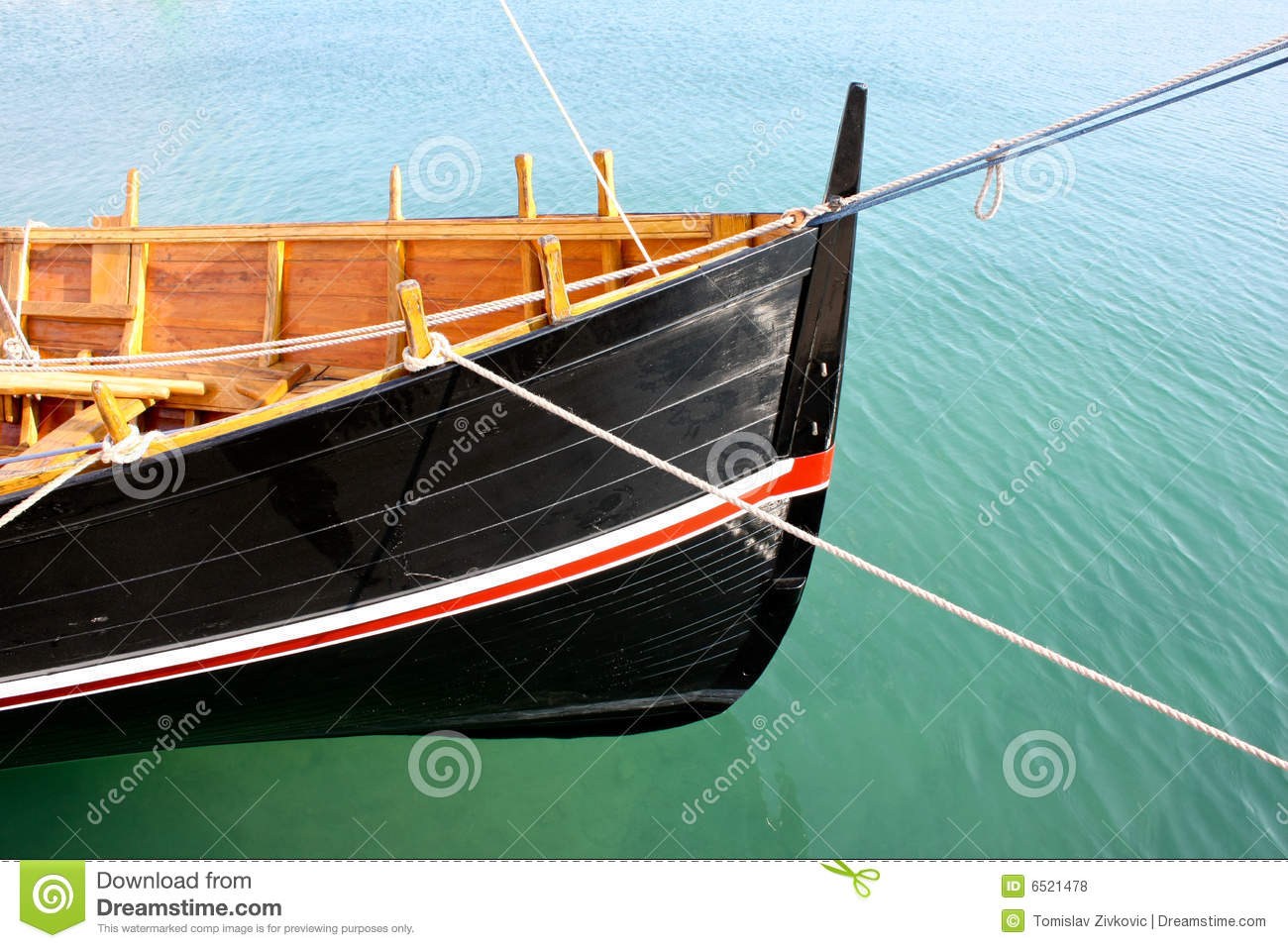 Wooden Boat Bow Royalty Free Stock Photos - Image: 6521478