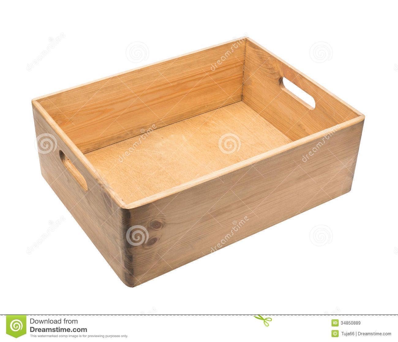 Wooden Box Royalty Free Stock Images - Image: 34850889