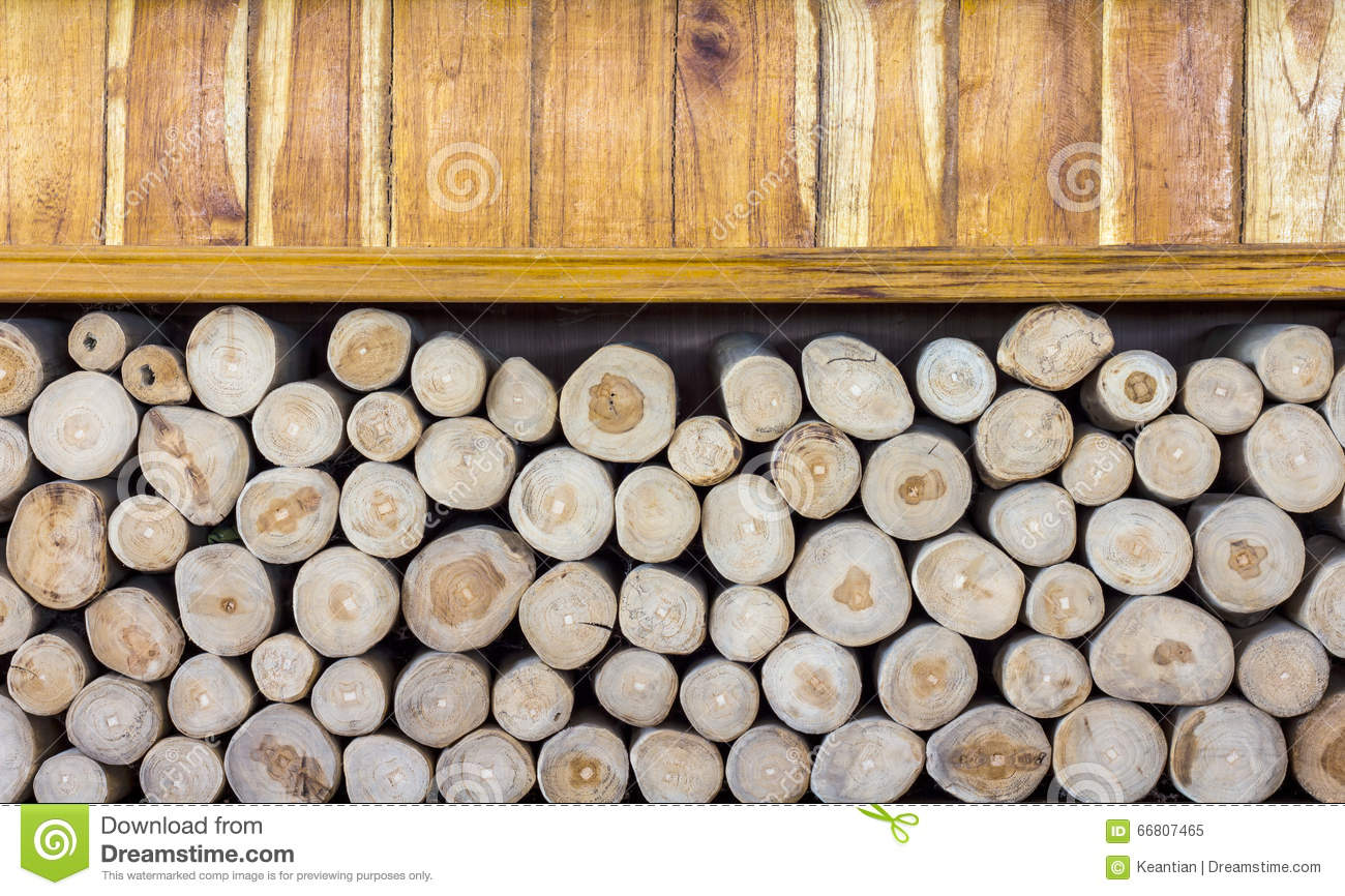 Wooden Box With A Piece Of Firewood Stock Image Image Of Nature