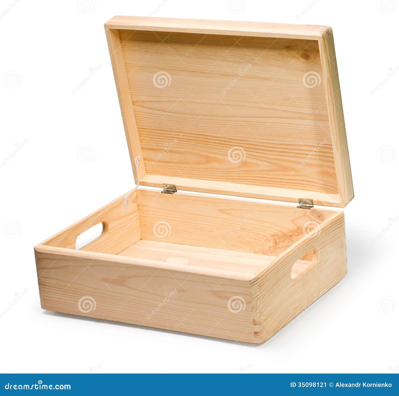 Wooden Box Stock Image Image 35098121