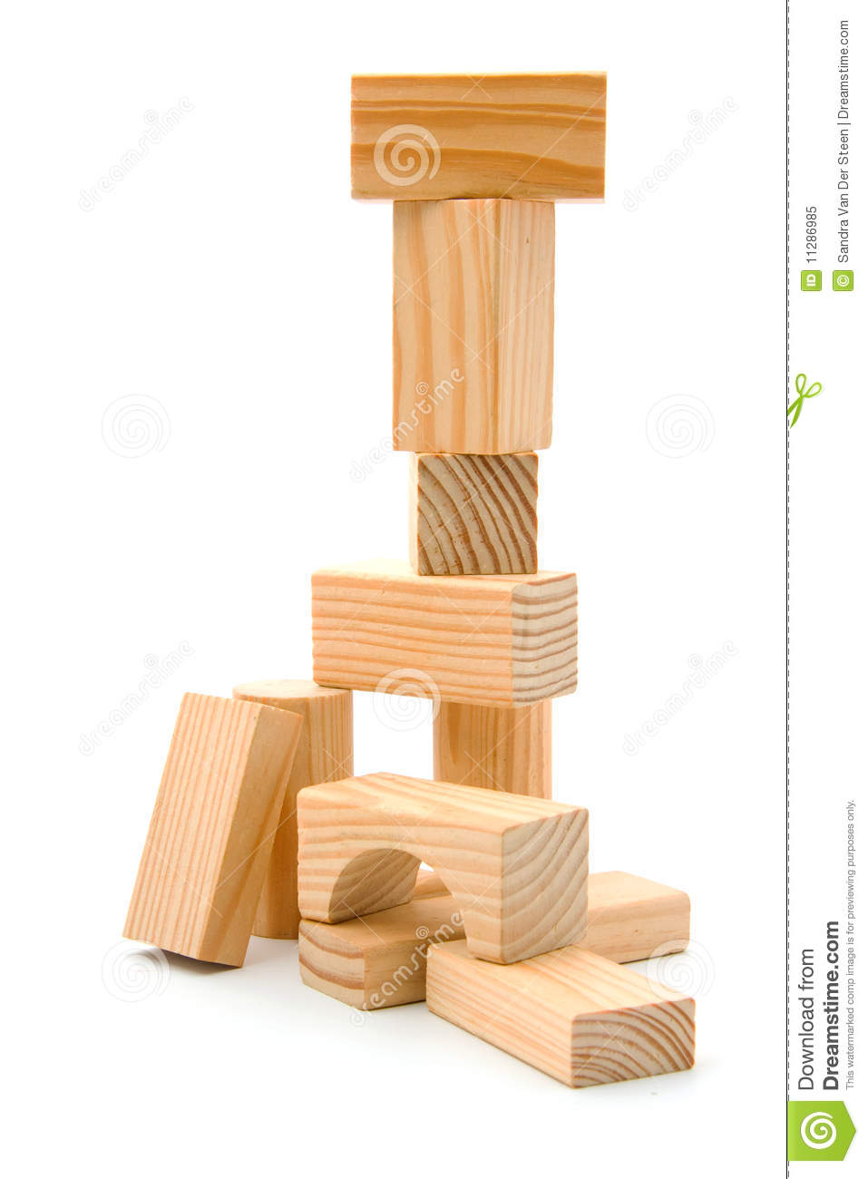 Wooden Building Blocks Royalty Free Stock Photo - Image: 11286985