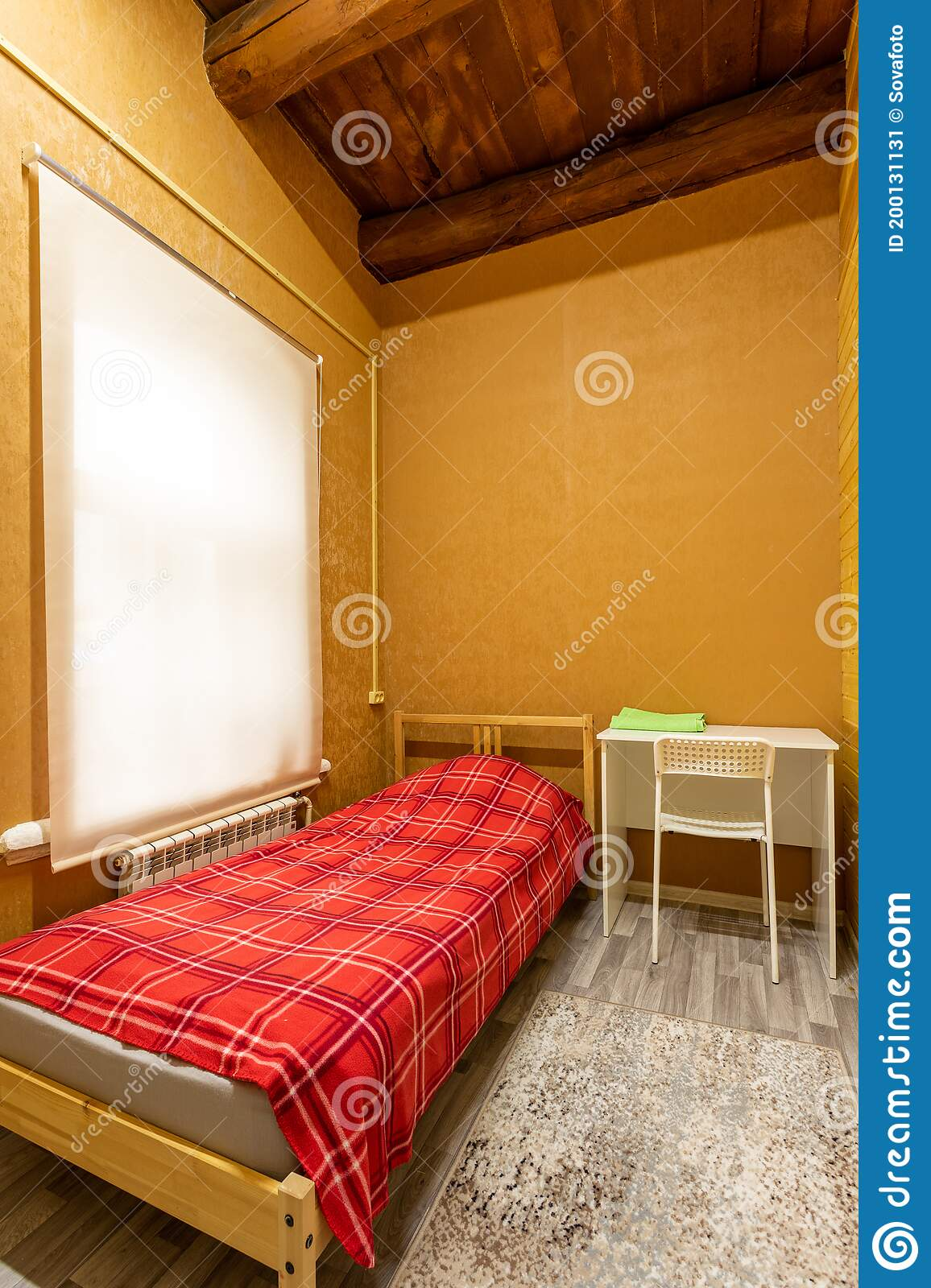 Wooden Bunk Beds Stock Image Image Of Mattress Hotel 200131131